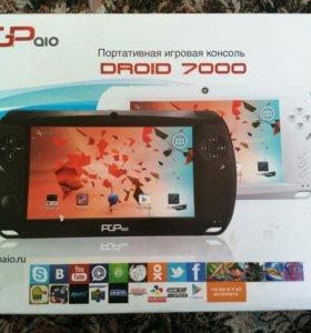Портативная игровая консоль PGP aio Droid 7000