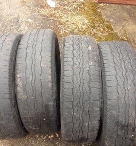 Б/у Bridgestone dueler шины радиус 17