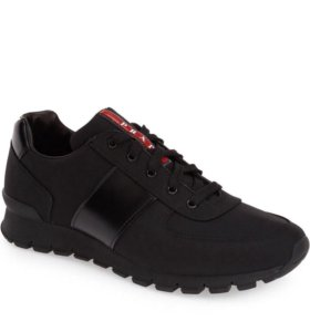 Prada Mens Runner Black
