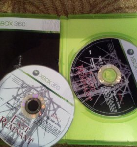 Диск на ixbox 360 (The Last Remnant)
