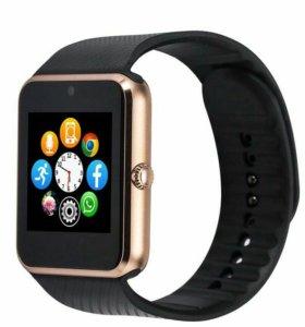 Умные часы smart watch GT 08 золотые