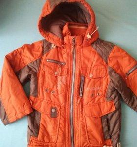 Куртка демисезон на мальчика, 110-116см