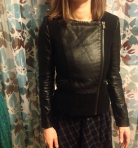 Куртка кожанка Zara