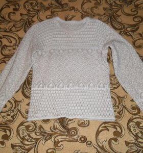 Вязаный свитер 42 размер