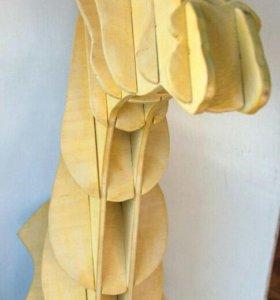 Жираф. Настенное украшение.