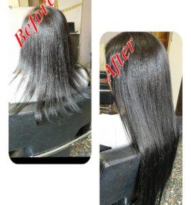 Пряди и хвосты для волос на клипсах