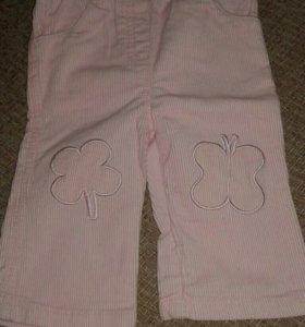 Вельветовые брюки детские