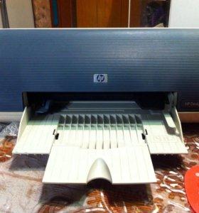 Струйный цветной принтер Hp