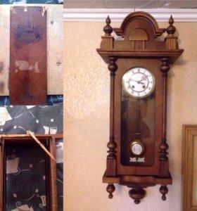 Реставрация настенных и напольных старинных часов.