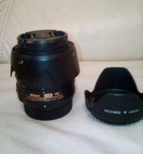 Обьектив Nikon DR VR AF-S 18-55 Nikorr с фильтром