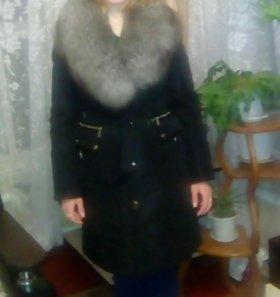 Зимние пальто мех натуральный писец