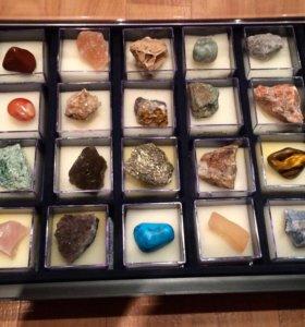 Коллекция минералов 20 образцов