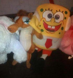 Плюшовые игрушки