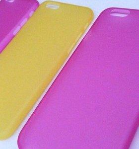 Чехлы на iPhone 6/6S новые