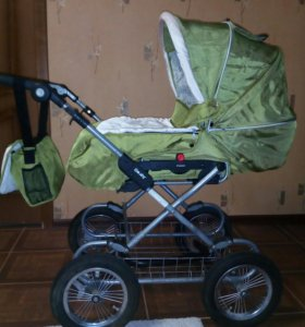 Детская коляска трансформер, лето-зима.