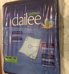 Пелёнки Dailee 60х90 см 30 штук