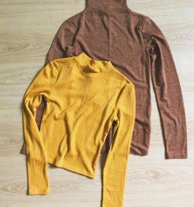 Новые свитер и водолазка h&m