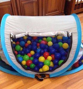 Палатка с шариками