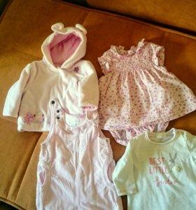 Одежда для малышки весна-лето