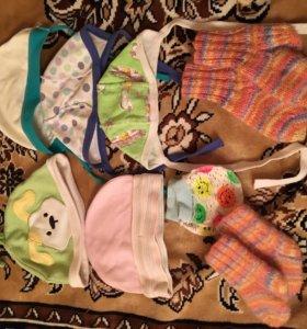 Боди, шапочки, распашонки, ползунки, вещи детские