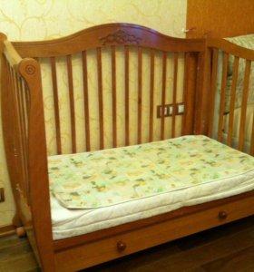 Детская кроватка Моника (пр-во Гандылян, Россия)