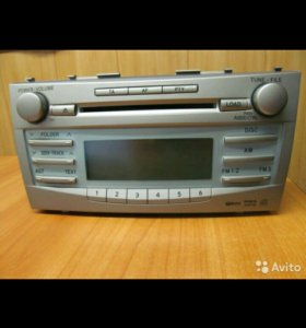 Авто аудиосистема toyota camry