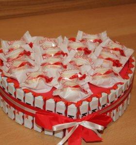 Торт из киндеров