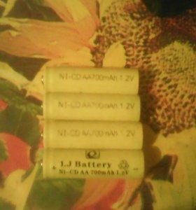 Батарейка на 1.2 v одна батарейка 45 руб