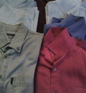 Рубашки на мальчика б/у