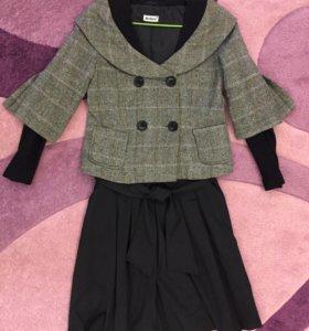 Пиджак и юбка, размер 44