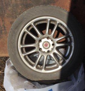Продам комплект колес 205/55 R16(4шт.)