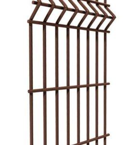 Забор коричневый 3D