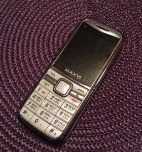 Телефон MAXVI на 2 сим