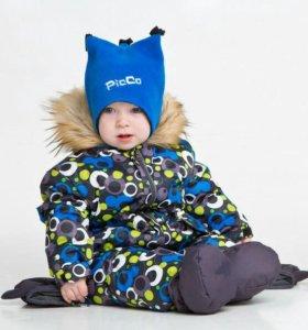 Детский зимний комбинезон Picco.