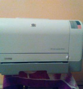 Цветной лазерный принтер HP CP1215