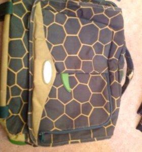 Рюкзак школьный,детский,Черепаха