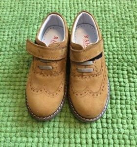Детские ботиночки 26 размер, купили не одевали
