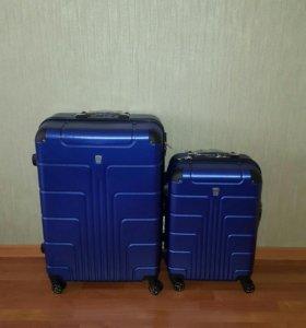 Противоударный чемодан из ПОЛИКАРБОНАТА руч кладь