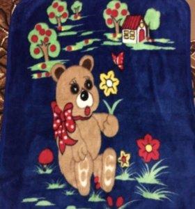 Одеяльце детское велюровое