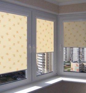 Окна пластиковые алюминиевые, жалюзи ,рольставни