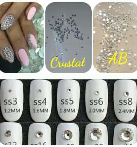 Стразы для дизайна ногтей 1440 шт/уп