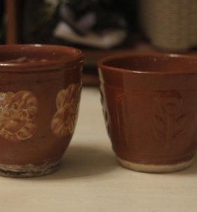 Горшки под растения керамические d18
