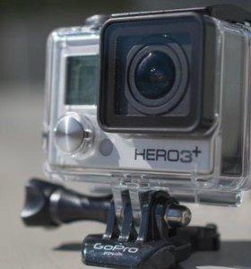 Экшн-камера GoPro3+ silver edition