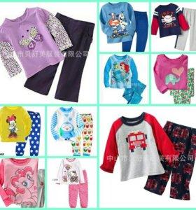 Пижамки для девочек и мальчиков