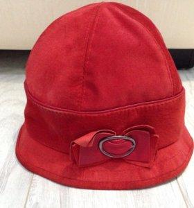 Шляпа натуральная замша