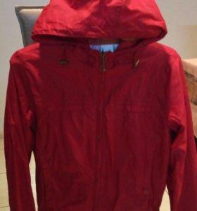 Куртка-ветровка теплая