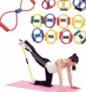 Эспандер для ягодиц. Спорт. Фитнес. Здоровье.