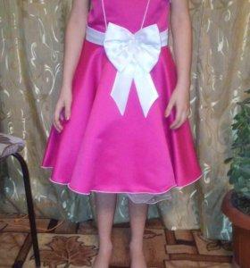 Платье рост 134