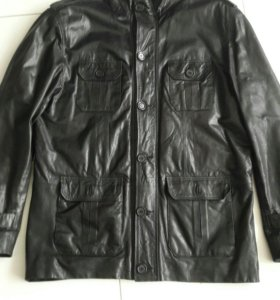 Куртка кожаная новая мужская р. 52-54