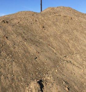 Песчаной-гравийная смесь